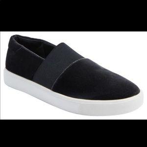 Vince Corbin velvet sneakers